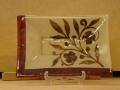 Handmade platter 25x25